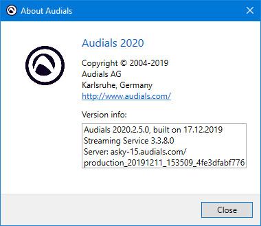 Audials One Platinum 2020.2.5.0
