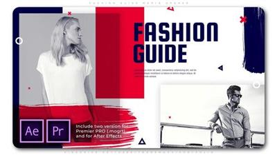 Videohive - Fashion Guide Media Opener - 25719580