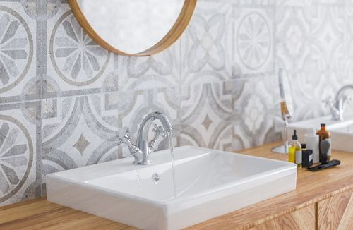 размер плитки для ванной маленькой