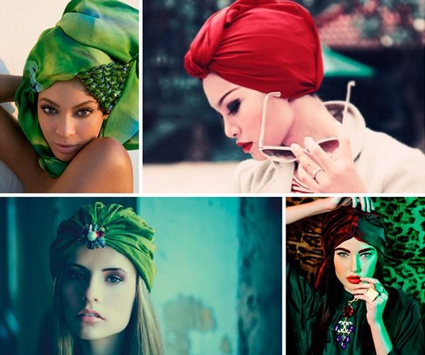Как завязать платок на голове разными способами зимой, летом на пляже, осенью или весной. Пошаговое