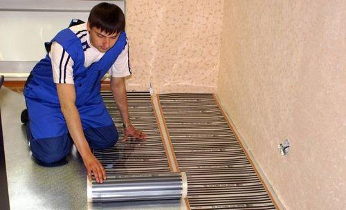 Электрический теплый пол под линолеум преимущества системы и руководство по монтажу