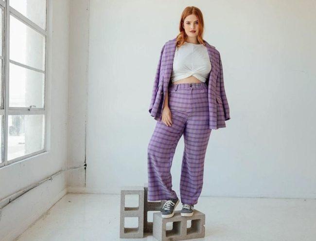 Фасоны брюк для полных женщин фото