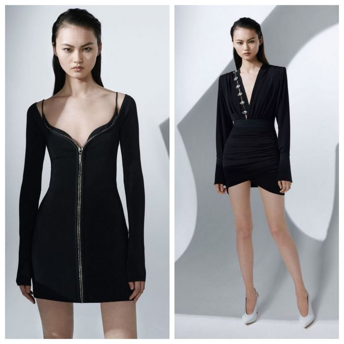 Модные фасоны красивых чёрных платьев 2019