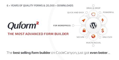 CodeCanyon - Quform v2.10.0 - WordPress Form Builder - 706149 - NULLED