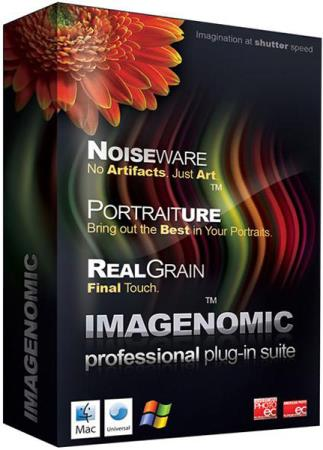 Imagenomic Portraiture 3.0.2 build 3027 / Noiseware 5.0.3 build 5032 / RealGrain 2.0.1 build 2013