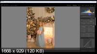 Съемка с разными источниками света в новогодних интерьерах (2019) HDRip