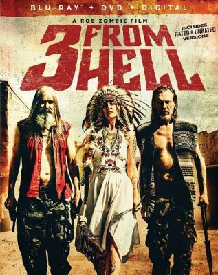 Трое из ада / 3 from Hell / Three from Hell (2019) BDRip 720p | Unrated