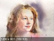 Курс акварельного портрета «Взросление» (2019) HDRip