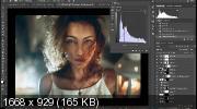 Пошаговый онлайн-курс по художественной обработке портретов + Бонусы (2019) HDRip