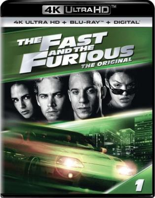Форсаж / The Fast and the Furious (2001) BDRemux 2160p