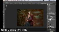 Краски осени. Обработка осенних фотографий (2019) HDRip