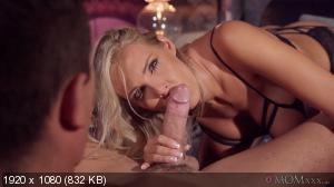 Florane Russell - Sultry blonde gets cowgirl creampie [1080p]