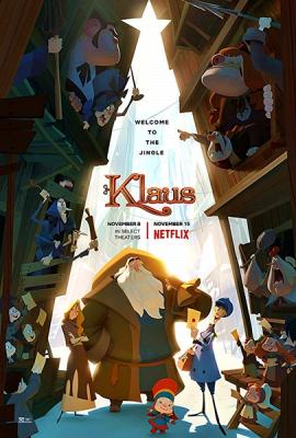 Клаус / Klaus (2019) WEBRip 720p | Невафильм