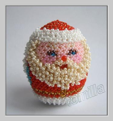 """Конфетка от tomilla  яйцо """"Дед Мороз"""" №1 _2e423f65a9b59fa5bc3b59edebdf1faa"""