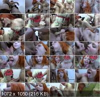 Bukkake/PutaLocura - Mey Max, Conchitta - Bukkake doble, doble morbo (HD/720p/1.32 GB)
