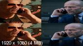 Без черных полос (на весь экран) Форсаж: Хоббс и Шоу 3D / Fast & Furious Presents: Hobbs & Shaw 3D  (by Amstaff)  Вертикальная анаморфная стереопара