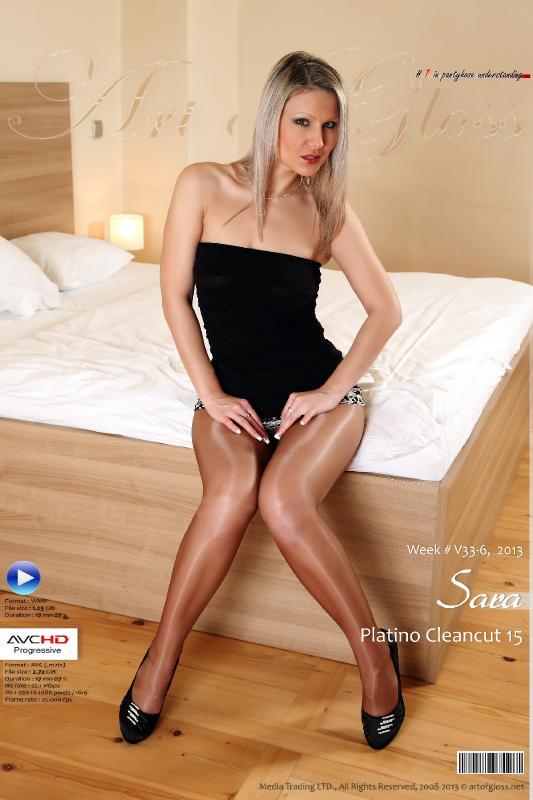 [ArtOfGloss.net] Art of Gloss #1 in pantyhose understanding. [ArtOfGloss.net 2013-08] 33-6-13, Sara & Platino Ceancut 15 [AVCHD] [2013, Gloss pantyhose, High heels, Legs, Shiny pantyhose, HDRip, 1080p]