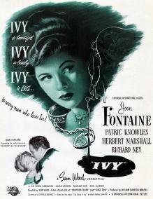 Плющ / Ivy (1947) DVDRip