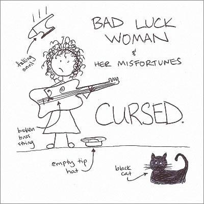 Bad Luck Woman & Her Misfortunes - Cursed. (2016) [Digital Album]