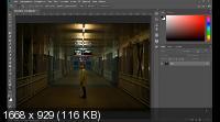Неоновый эффект на фото в Photoshop (2019) HDRip