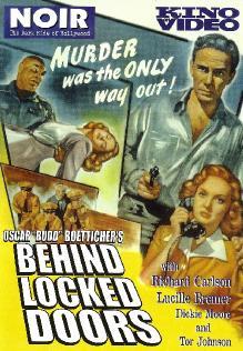 За закрытыми дверьми / Behind Locked Doors (1948) DVDRip