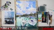 Яхты Балатона. Акварельный онлайн-практикум (2019)