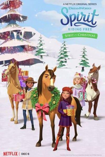 Spirit Riding Free Spirit of Christmas 2019 720p WEBRip 800MB x264-GalaxyRG