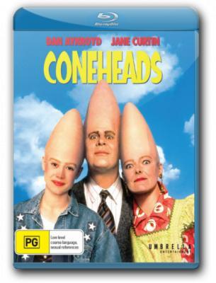 Яйцеголовые / Coneheads (1993) BDRip 1080p