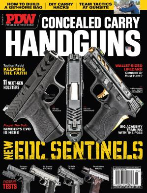 Personal Defense World - Issue 223 - Concealed Carry Handguns - October-November (...