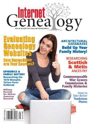 Internet Genealogy - December 2019 - January (2020)