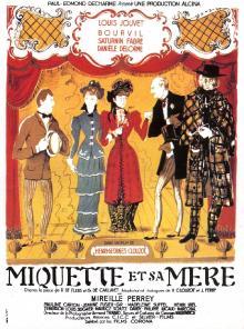 Микетта и ее мать / Miquette et sa mere (1950) DVDRip