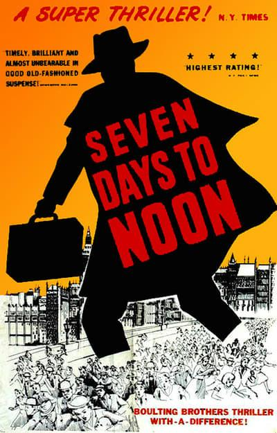 Seven Days to Noon 1950 BRRip XviD MP3-XVID