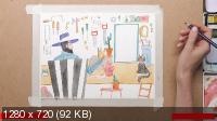 Онлайн-курс «Практическая иллюстрация» (2019) HDRip
