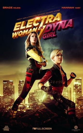 Electra Woman and Dyna Girl 2016 WEBRip XviD MP3-XVID