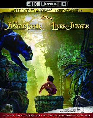 Книга джунглей / The Jungle Book (2016) BDRemux 2160p | HDR | Лицензия