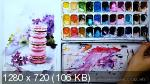 Новогодний марафон «Акварельные сладости» (2020) HDRip