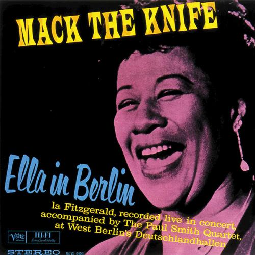 Ella Fitzgerald - Mack The Knife - Ella In Berlin 1960 (2016) [Hi-Res]