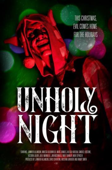 Unholy Night 2018 720p AMZN WEBRip 800MB x264-GalaxyRG