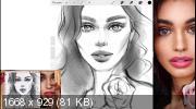 Онлайн-курс по стилизованным портретам в стиле «Масло» на iPad (2019)