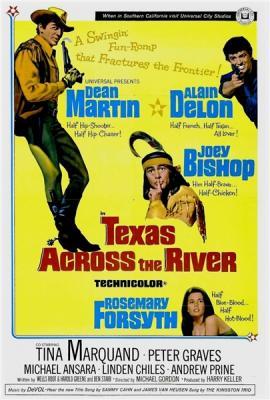 Техас за рекой / Texas Across the River (1966) BDRip 720p