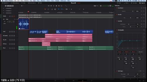 Работа со звуком в Davinci Resolve (2019)