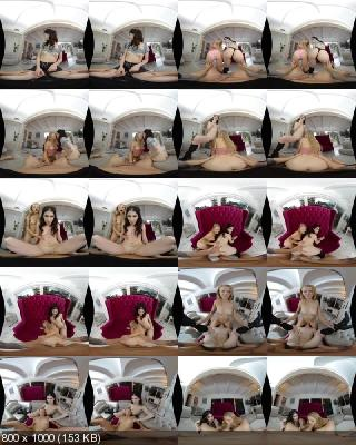 WankzVR: Evelyn Claire, Paris White (Repeat Business / 11.02.2020) [Oculus Rift, Vive, GO, Samsung Gear VR   SideBySide] [2300p]