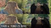 Без черных полос (на весь экран)  Малефисента: Владычица тьмы 3D / Maleficent: Mistress of Evil 3D (by Amstaff)  Вертикальная анаморфная стереопара