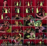 PureCFNM - Alessa Savage, Ella Hughes, Jessy Hen - Party Dare (FullHD/1080p/835 MB)