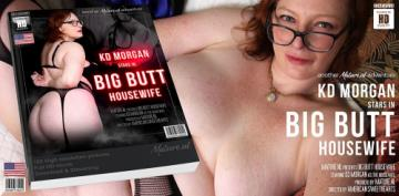 KD Morgan (35) - Big butt housewife KD Morgan playing with her vibrator (2020) 1080p