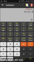 TechCalc+ Scientific Calculator 4