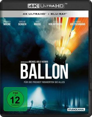 Воздушный шар / Ballon (2018) BDRemux 2160p | HDR | HDrezka Studio