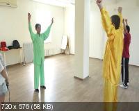 Оздоровительный цигун и цзинь цзин: Гимнастика для укрепления мышц и сухожилий (2020) CAMRip