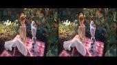 Холодное сердце 2 3D / Frozen II 3D Горизонтальная анаморфная стереопара