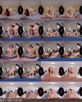 VirtualRealPorn: Katy Rose, Zazie Skymm - Spring Break (Part III) [Oculus Rift, Vive | SideBySide] [2700p]